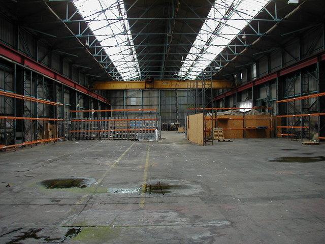průmyslové skladové prostory