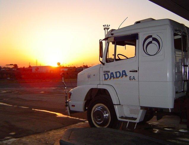kabina nákladního vozu