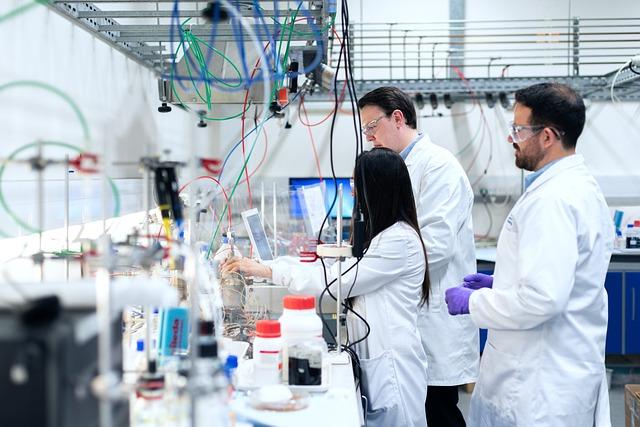 laboratoř – zkoumání