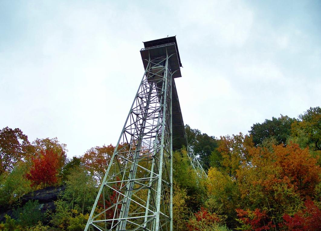 věž v Ostravě